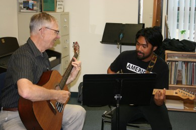 Not Instructors teen music classes can find